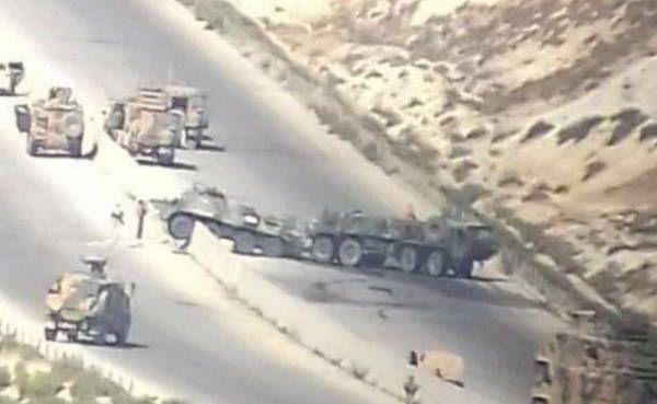 Минобороны России сообщило о последствиях атаки боевиков на патруль в Сирии
