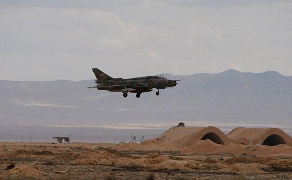 Израиль показал кадры уничтожения истребителя Су-22 ВВС Сирии— видео
