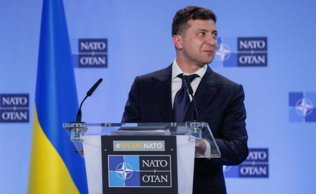Зеленский: Украину надо немедленно принять в НАТО — Новости политики, Новости Украины — EADaily