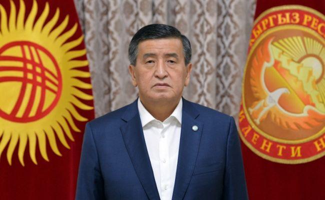 Жээнбеков: Из-за непомерных амбиций политиков мир в Киргизии под угрозой