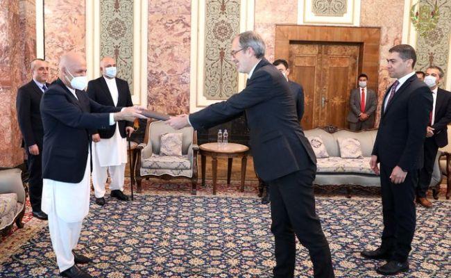 ВАфганистане— новый посолЕС изГермании