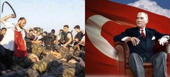 Закат эры Ататюрка: новое лицо Турции — толпа, линчующая солдат под исламские лозунги