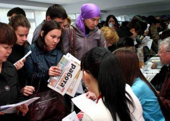 В Казахстане выросло число официально безработных