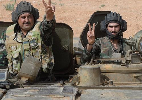 Сирийская армия пошла в наступление на джихадистов