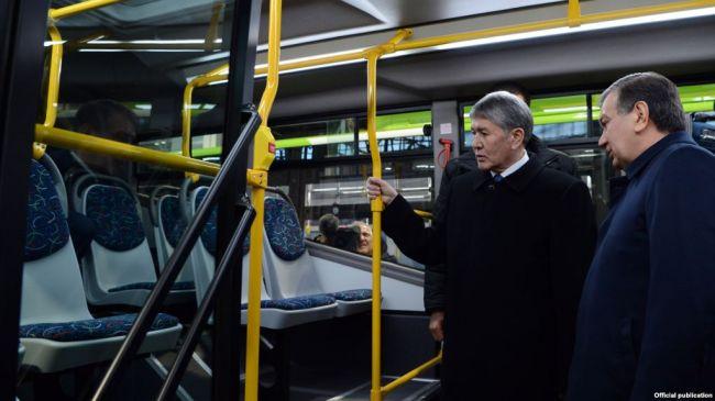 Киргизия и Узбекистан намерены совместно производить автобусы