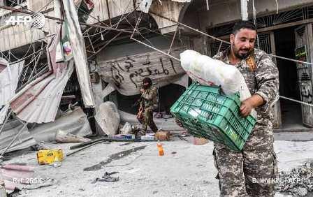 Африн пал: Протурецкие боевики грабят имущество курдов