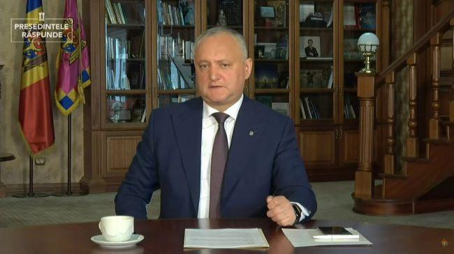 34f1a265dfc76906577e6f8c68513 Президент Молдавии: Санду должна взять ответственность заправительство