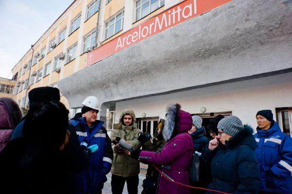 В Казахстане на предприятии Лакшми Миттала произошла серьезная авария