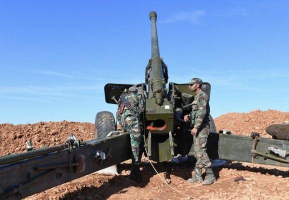 234a76f958231d6fd6d9169253b4c Сирийская армия наносит массированные артудары потеррористам вИдлибе