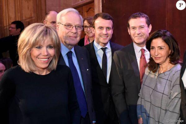 Resultado de imagem para Emmanuel Macron e Rothschild