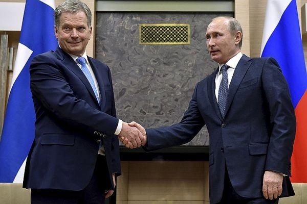 Лавров сообщил оготовящейся встрече президентов России иФинляндии
