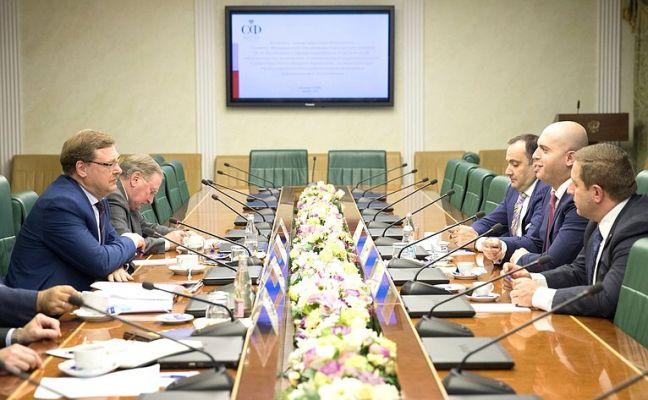 Косачев: отношения с Арменией системно развиваются