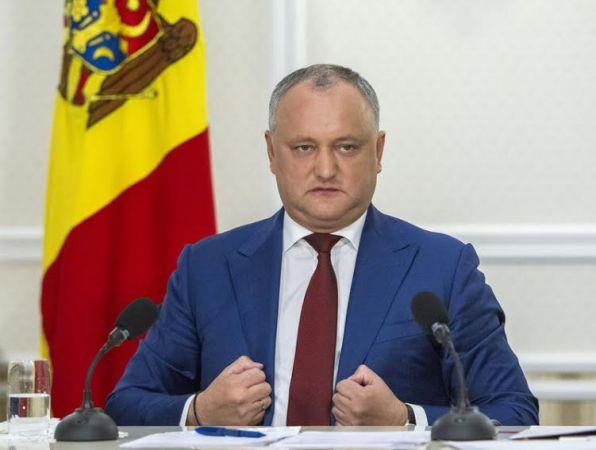 Додон: Для решения приднестровской проблемы нужно единство властей