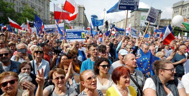 Польша и евровыборы: антироссийская власть укрепилась