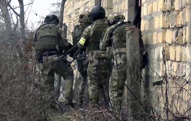 Опубликовано видео перестрелки и ликвидации боевиков в Дагестане