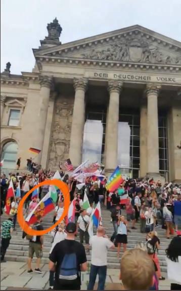 «Владимир, дайте свободу!» иштурм рейхстага: хроника беспорядков вБерлине
